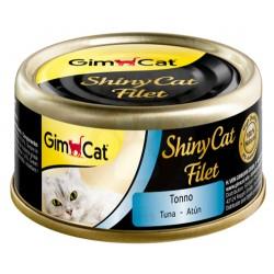 GimCat - GimCat ShinyCat Ton Balığı Kıyılmış Fileto Kedi Konservesi 70 Gr