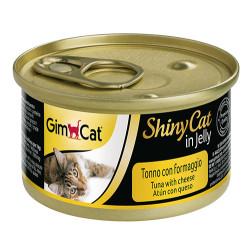 GimCat - GimCat ShinyCat Ton Balıklı Peynirli Jöleli Kedi Konservesi 70 Gr