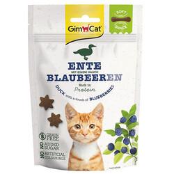GimCat - GimCat Soft Snacks Ördek ve Yaban Mersini Tahılsız Kedi Ödülü 60 Gr
