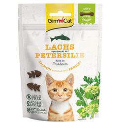 GimCat - GimCat Soft Snacks Somon ve Maydonoz Tahılsız Kedi Ödülü 60 gr