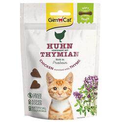 GimCat - GimCat Soft Snacks Tavuk Etli ve Kekik Tahılsız Kedi Ödülü 60 Gr
