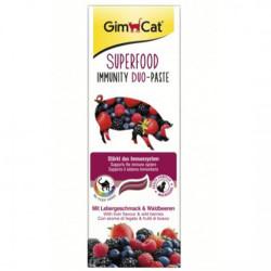 GimCat - Gimcat Super Food Immunity Duo-Paste Orman Meyveli Kedi Macunu 50 Gr