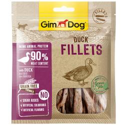 GimDog - GimDog Fillets Ördek Etli Kuru Fileto Köpek Ödülü 60 Gr