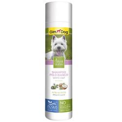 GimDog - Gimdog Gülhatmi ve Hindistan Cevizi Beyaz Tüylü Köpek Şampuanı 250 ML