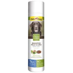 GimDog - Gimdog Kebrako ve Ceviz Kabuğu Koyu Tüylü Köpek Şampuanı 250 ML
