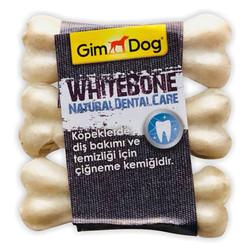 GimDog - Gimdog Mordimi Press Beyaz Kemik Köpek Ödülü (3lü Paket) - 9 Cm