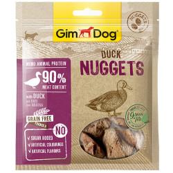 GimDog - GimDog Nuggets Ördek Etli Kuru Fileto Parçalı Köpek Ödülü 55 Gr