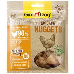 GimDog - GimDog Nuggets Tavuk Etli Kuru Fileto Parçalı Köpek Ödülü 55 Gr