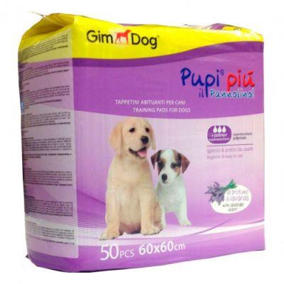 Gimdog Training Lavantalı Tuvalet Eğitim Çiş Pedi 60 x 60 Cm (50 Adet)