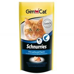 GimCat - Gimcat Schnurries Somonlu&Taurinli Ödül Tableti 40 Gr