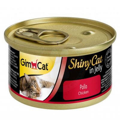 GimCat ShinyCat Tavuk Etli Jöleli Kedi Konservesi 70 Gr