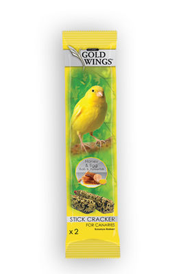 Gold Wings Classic Ballı Yumurtalı Kanarya Krakeri 2 Adet