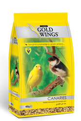 Gold Wings - Gold Wings Classic Kanaryalar için Komple Yem 400 Gr