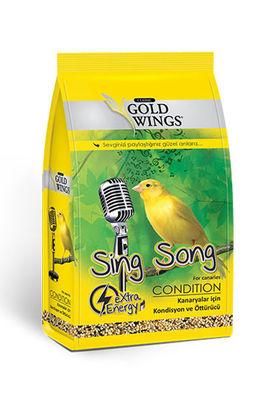 Gold Wings Classic Kanaryalar için Kondisyon ve Öttürücü Yem 150 Gr