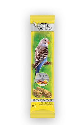 Gold Wings Classic Meyveli Muhabbet Kuşu Krakeri 2 Adet