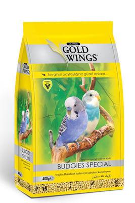 Gold Wings Classic Muhabbet Kuşları için Kabuksuz Komple Yem 400 Gr