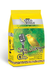 Gold Wings - Gold Wings Classic Kanaryalar için Kondisyon ve Öttürücü Yem 150 Gr