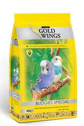 Gold Wings - Gold Wings Classic Muhabbet Kuşları için Kabuksuz Komple Yem 400 Gr