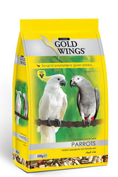 Gold Wings - Gold Wings Classic Yetişkin Papağanlar için Komple Yem 500 Gr