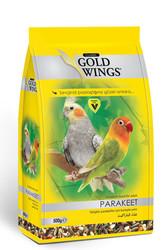 Gold Wings - Gold Wings Classic Paraketler için Komple Yem 500 Gr
