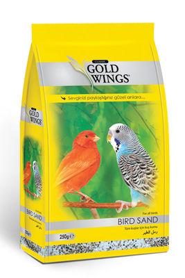 Gold Wings Classic Tüm Kuşlar için Kuş Kumu 250 Gr