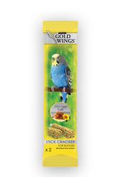 Gold Wings - Gold Wings Classic Ballı Yumurtalı Muhabbet Kuşu Krakeri 2 Adet