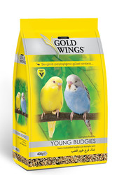 Gold Wings - Gold Wings Classic Yavru Muhabbet Kuşları için Komple Yem 400 Gr