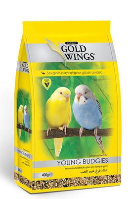 Gold Wings Classic Yavru Muhabbet Kuşları için Komple Yem 400 Gr