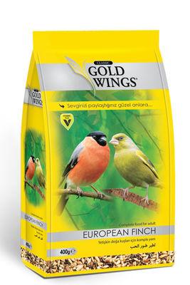 Gold Wings Classic Yetişkin Doğa Kuşları için (European Finch) için Komple Yem 400 Gr