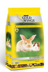 Gold Wings - Gold Wings Classic Kemirgenler için Komple Yem 500 Gr
