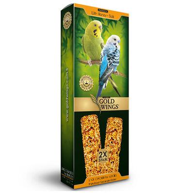 Gold Wings Premium Ballı Muhabbet Kuşu Krakeri 2 Adet