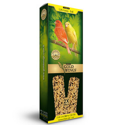 Gold Wings - Gold Wings Premium Ballı ve Yumurtalı Kanarya Krakeri Kutulu 2 Adet
