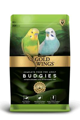 Gold Wings Premium Muhabbet Kuşları için Komple Yem 1000 Gr