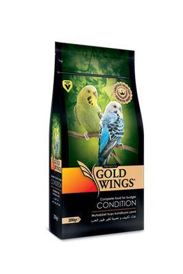 Gold Wings Premium Muhabbet Kuşları için Kondisyon Yemi 200 Gr