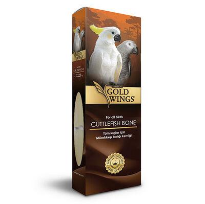 Gold Wings Premium Mürekkep Balığı Kemiği Büyük ( Kalamar ) - 17 Cm
