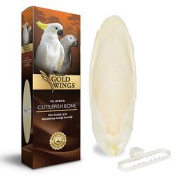 Gold Wings - Gold Wings Premium Mürekkep Balığı Kemiği Büyük ( Kalamar ) - 17 Cm
