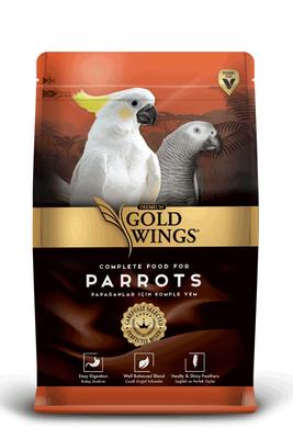 Gold Wings Premium Papağanlar için Komple Yem 750 Gr