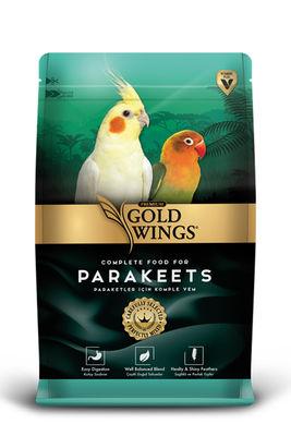 Gold Wings Premium Paraketler için Komple Yem 1000 Gr