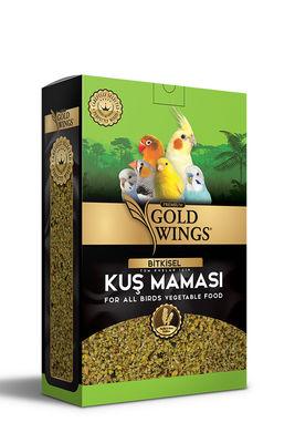 Gold Wings Premium Tüm Kuşlar için Bitkisel Kuş Maması 1000 Gr
