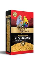 Gold Wings - Gold Wings Premium Tüm Kuşlar için Kurtlu ve Böcekli Kuş Maması 1000 Gr