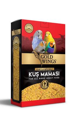 Gold Wings Premium Tüm Kuşlar için Kurtlu ve Böcekli Kuş Maması 1000 Gr