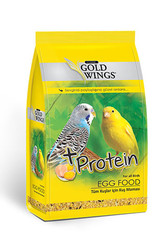 Gold Wings - Gold Wings Classic Tüm Kuşlar için Yumurtalı Kuş Maması 100 Gr