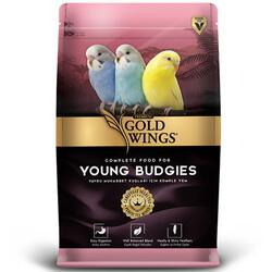 Gold Wings - Gold Wings Premium Yavru Muhabbet Kuşları için Komple Yem 1000 Gr