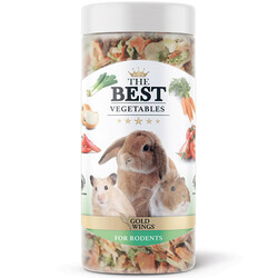 Gold Wings - Gold Wings Vegetables Kemirgenler için Sebzeli Snack Ödül 100 Gr