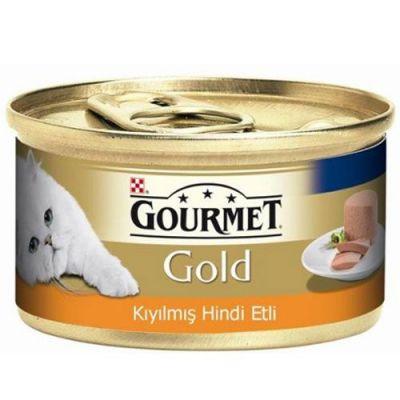 Gourmet Gold Kıyılmış Hindi Etli Kedi Konservesi 85 Gr