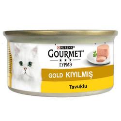 Gourmet - Gourmet Gold Kıyılmış Tavuklu Konserve Kedi Maması 85 Gr
