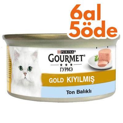 Gourmet Gold Kıyılmış Ton Balıklı Kedi Konservesi 85 Gr - 6 Al 5 Öde