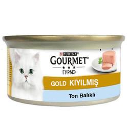 Gourmet - Gourmet Gold Kıyılmış Ton Balıklı Kedi Konservesi 85 Gr