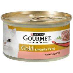 Gourmet - Gourmet Gold Savoury Cake Somonlu Kedi Konservesi 85 Gr
