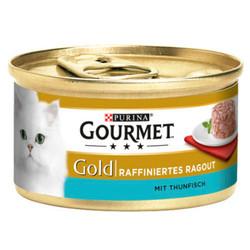 Gourmet - Gourmet Gold Savoury Cake Ton Balıklı Kedi Konservesi 85 Gr